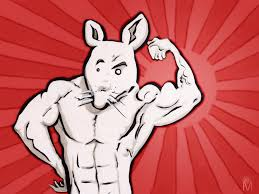 012 - Arm | Testosterone Mouse shows off his bulgy biceps ...